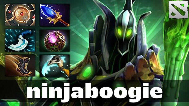 Ninjaboogie Rubick OverFarm Carry Plays Dota 2