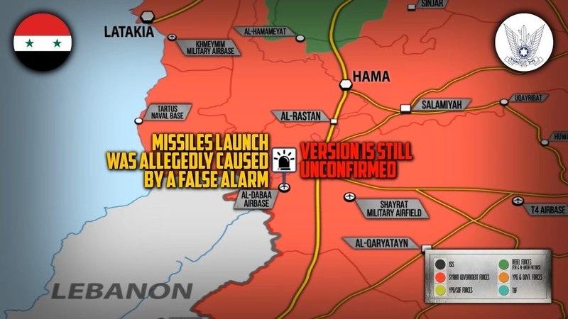 25 мая 2018. Военная обстановка в Сирии. Сообщения об ударах США и Израиля по сирийской армии.