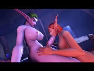 WorldOfWarcraft Nigh Elf porn (18+)