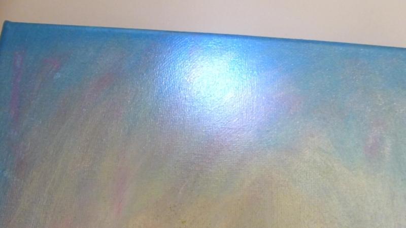 Картина Blossoming Light Юлия Козловская, 25х30см холст, акрил (в деталях)