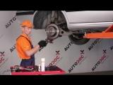 Peugeot 406 (Пежо 406) замена  задних тормозных колодок и дисков