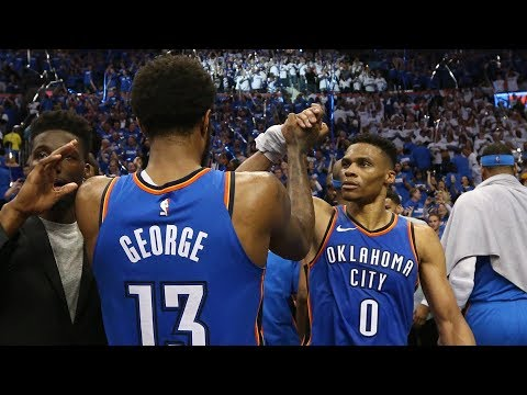 Paul George Russell Westbrook Lead The Comeback In Game 5!