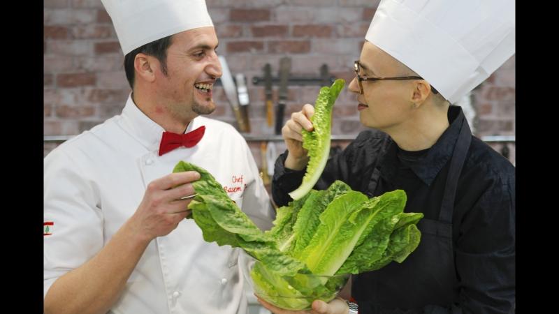 Мастер-класс по ближневосточной кухне,шеф-повар Басем Зэйн.
