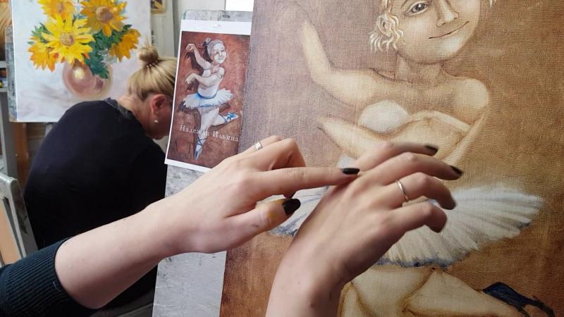 Пишем руки с Надеждой Ильиной