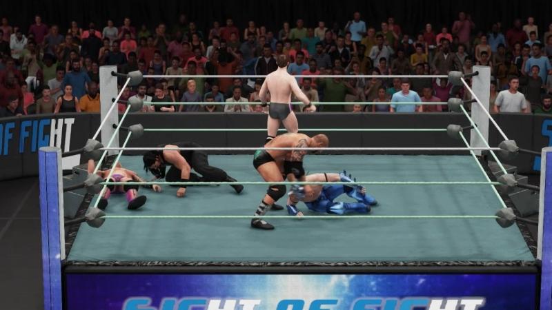  WW  Chris Jericho vs Roman Reigns vs Batista vs Drago vs Kyle O'Reilly vs Zack Ryder