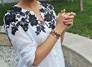Декорирование одежды кружевом своими руками