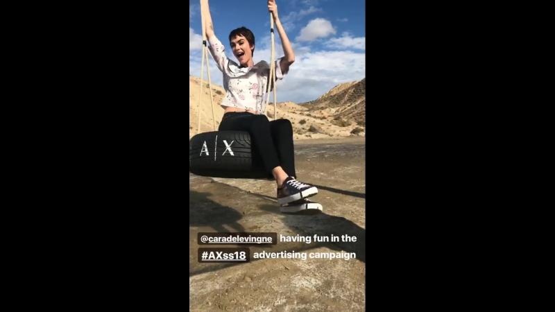 InstagramStory Armani Exchange