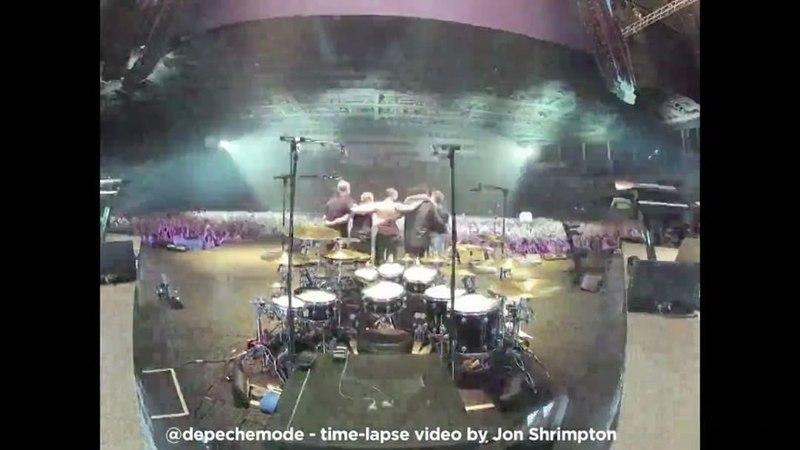 Depeche Mode в Instagram: «A cool time-lapse video of the DepecheMode St. Petersburg show (Delta Machine Tour), filmed by tour video director Jon ...