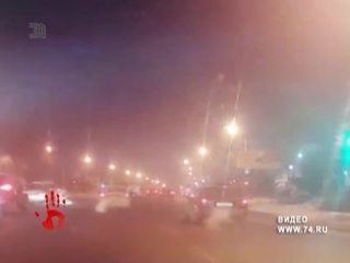 Побег арестанта от полиции попал на видео. Он просто вышел из машины.