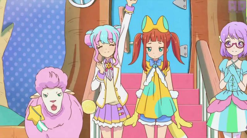4 Субтитры 74 серия Aikatsu Stars Звёзды Айкацу Amazing Dubbing