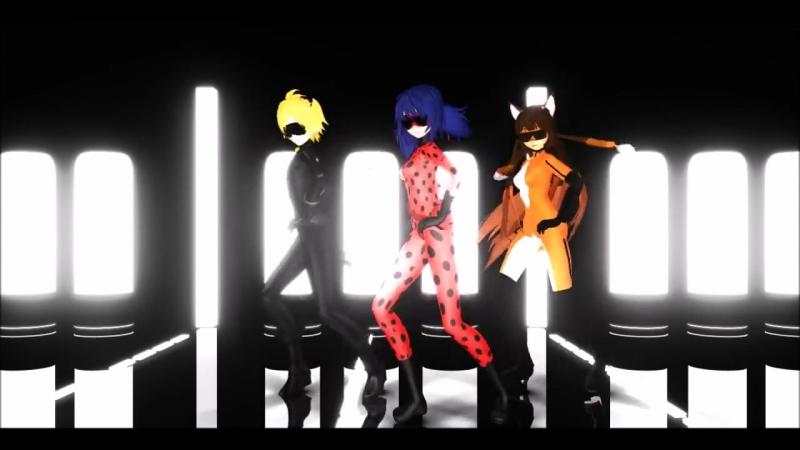 [MMD] Miraculous Ladybug - PSY Gangam Style- [ММД] Чудесная ЛедиБаг - Гангам Стайл!
