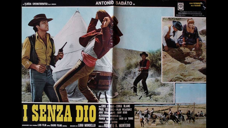 Безбожники /I Senza Dio [1972,TVRip]