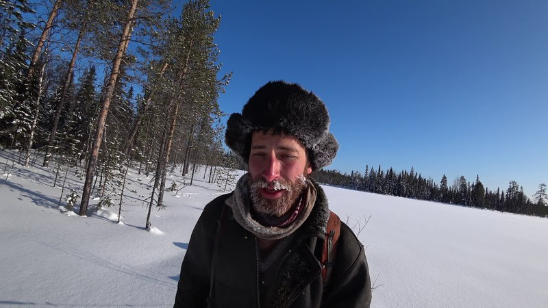 The 15 and last day accross the pre-polar Ural mountain in february 2018