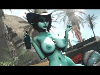 Soria dark elf porn min
