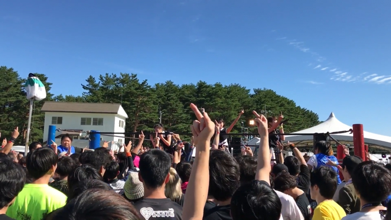 2016.10.01 - AOMORI ROCK FESTIVAL'16 - Club Kids Never Die (FanCam)