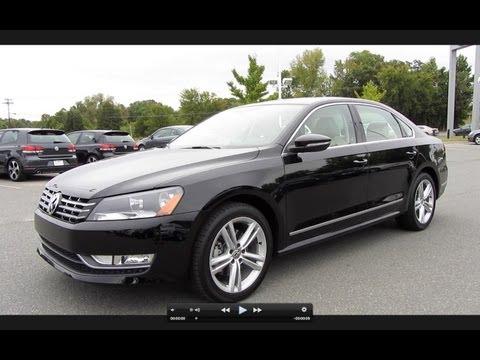 2012 Volkswagen Passat SEL TDI Start Up, Engine, and In Depth Tour