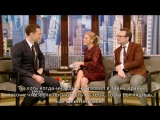 Tom Hiddleston on Kelly`s show