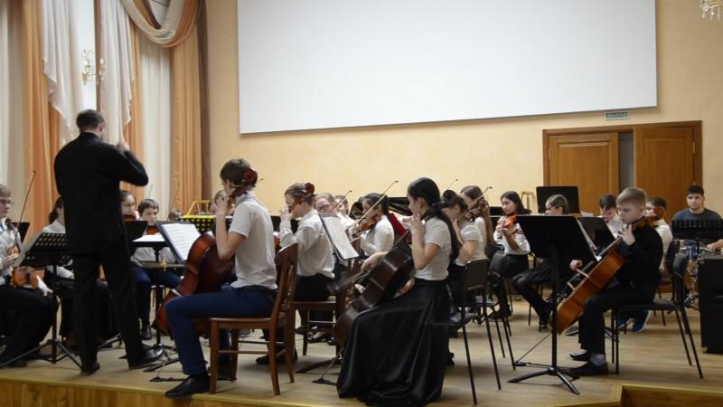 Струнный оркестр. А. Зобнин