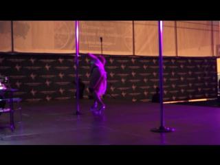 8 Pole Dance Exotic - любители_ Полторак Инесса г. Москва Пятый Открытый Танцевальный Фестиваль ДУХ ПИЛОНА