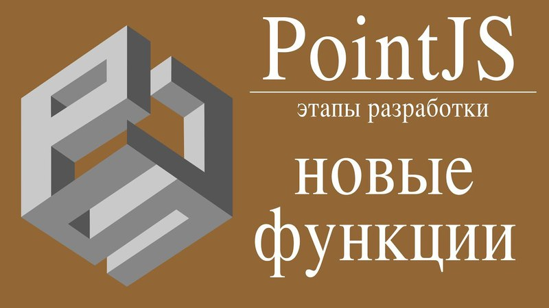 Этапы разработки игрового движка PointJS. Новые функции. Как сделать свою компьютерную игру?