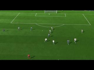 FIFA18 ещё один гол в девятку от Дель Пьеро