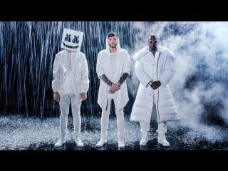 Премьера. Marshmello & Juicy J feat. James Arthur - You Can Cry