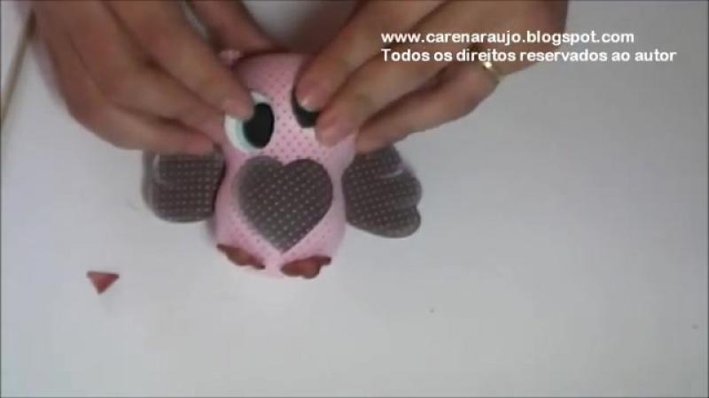 Caren araujo - curso virtual - home sweet home aula 08 - corujinha charmosa2