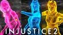 INJUSTICE 2 ALL Enchantress Super Move COLORS Clone Shaders