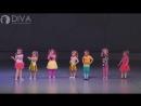 Детские танцы kids dance, группа 3-4 г. с номером Коротышки