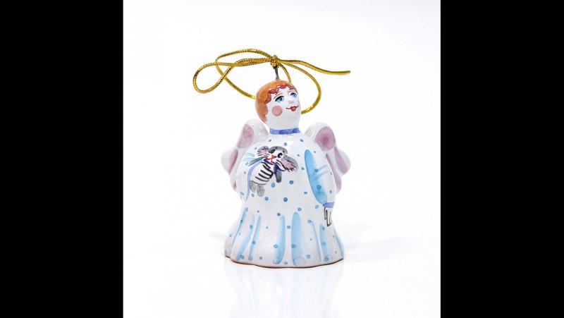 Ангел колокольчик