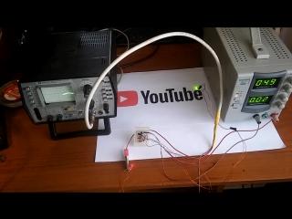демонстрация работы симметричного мультивибратора на транзисторах кт315 на экране осциллографа