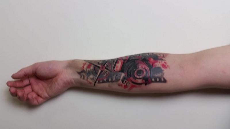 Татуировка для моего любимого фотографа