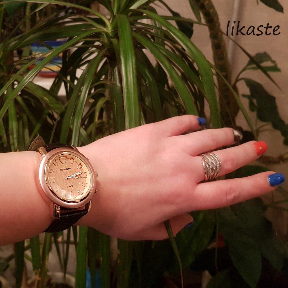 Прекрасные очень стильные и лаконичные часы марки Rebirth с очень приятным ценником о которых уже давно стоило написать