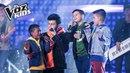 Sebastián Yatra, Robert, David y Juanse cantaron Que Canten Los Niños | La Voz Kids Colombia 2018