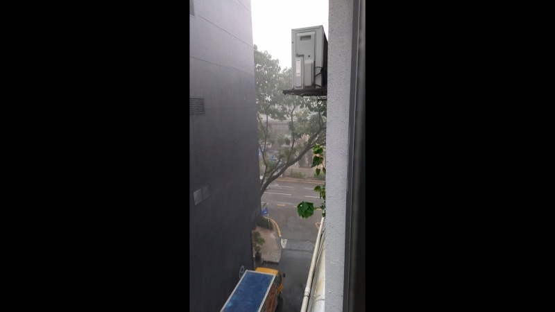 тропический ливень в Куалу Лумпур 1