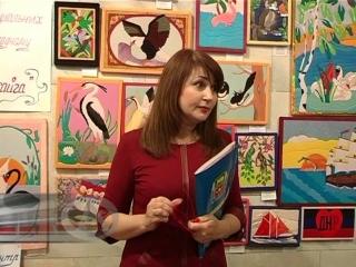 Выставка картин в японском стиле кинусайга прошла на базе мемориального музея П. Ангелиной в п. Старобешево