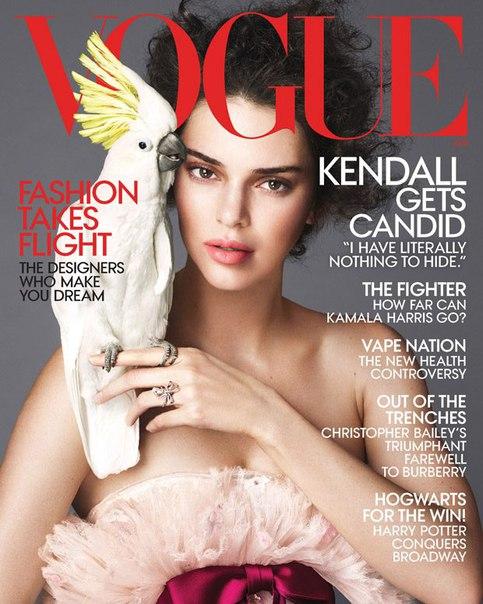 Кендалл Дженнер в фотосесии для American Vogue / Апрель 2018