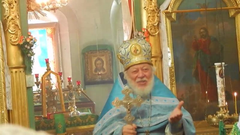 д.Опоки.Проповедь протоиерея Владимира Попова. 22 сентября 2017 года.