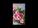 Алмазная мозайка Чайные розы