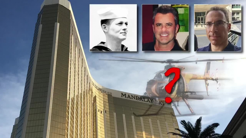 John Cullen Returns – Where SANG Helicopters Used in the Las Vegas Shooting?