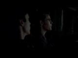Дневники вампира - 3.21 - Деймон и Стефан везут тело Клауса, чтобы спрятать (Озвучка Кубик в кубе)