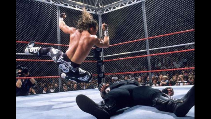 Hell in a Cell: Shawn Michaels vs. The Undertaker (05.10.1997)
