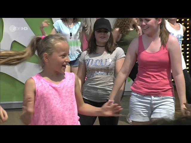 Dance4Fans - Despacito - ZDF Fernsehgarten 11.06.2017 - GERMANY TV