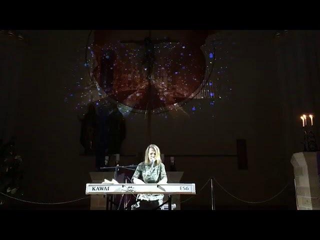 Оля Пулатова (Flëur) - Рождественский концерт в Кирхе 2017