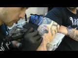 Notorius B.I.G.. Фрагмент нанесения татуировки
