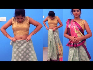 Best Saree How to Wear Lehenga with new Style Draping new saree draping styles
