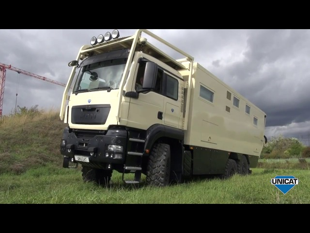 UNICAT Expedition Vehicles - Part 2 MD77H MAN TGS 33.540 - 6X6 Interior