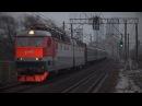 Электровоз ЧС7-094 с поездом №341 (Москва - Кишинёв)