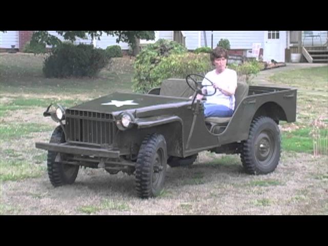 RARE! 1941 Bantam RC WWII Military Jeep •Sullivan Auctioneers, LLC