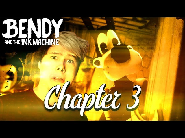 АНГЕЛ ИЛИ ДЕМОН - Bendy And the ink machine chapter 3 глава 3 прохождение